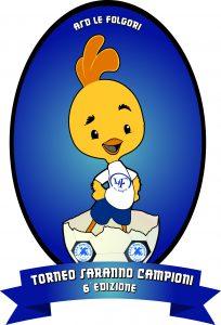 Logo torneo 6 edizione saranno campioni