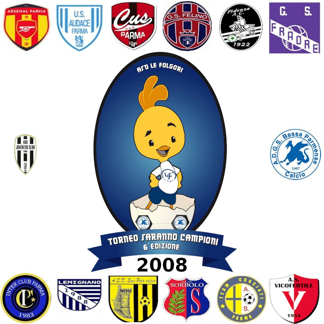 Partecipanti Torneo Esordienti 2008