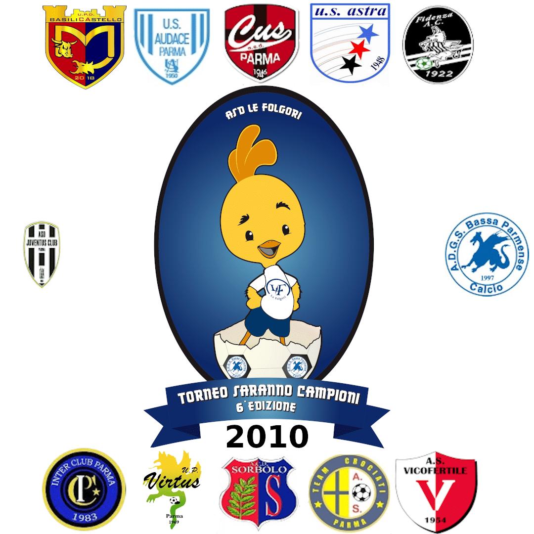 Partecipanti Torneo Pulcini 2010