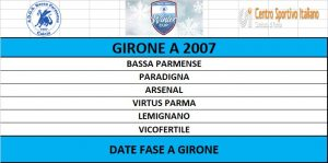 GIRONE A 2007 WINTER CUP