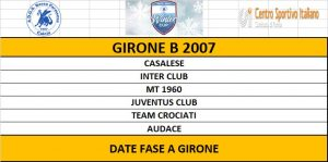 GIRONE B 2007 WINTER CUP