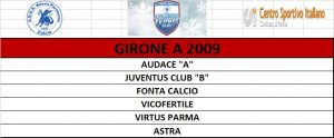 GIRONE A 2009 WINTER CUP