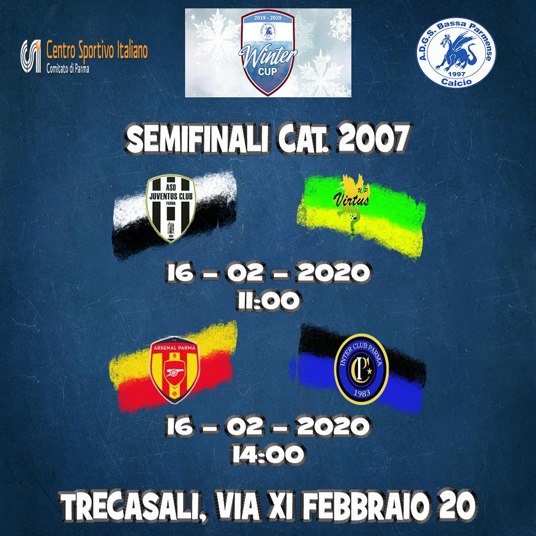 semifinali categoria 2007