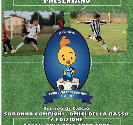 """Sorteggi 3° Torneo """"Pavanati"""" – 7° Torneo """"Saranno Campioni – Amici della Bassa"""""""