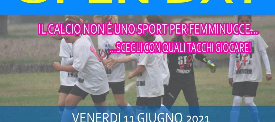 Open Day, Il calcio femminile nella squadra più rosa di Parma!